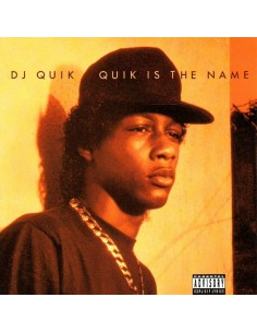 "VINILO LP DJ QUIK ""QUIK IS THE NAME"""
