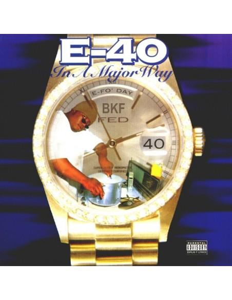 """VINILO LP E-40 """"IN A MAJOR WAY"""""""
