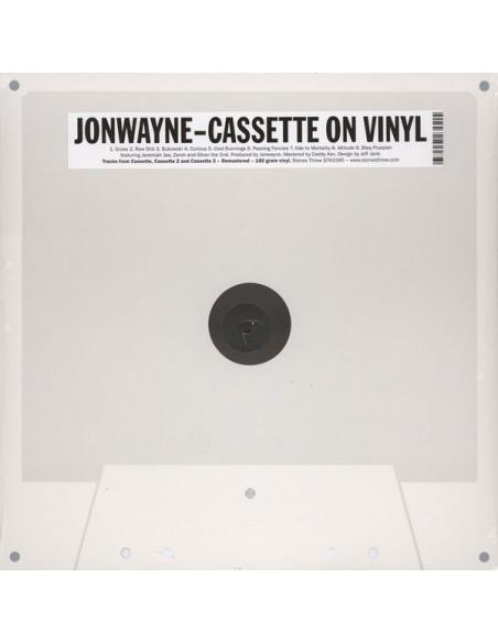 """VINILO LP JONWAYNE """"CASSETTE ON VINYL"""""""