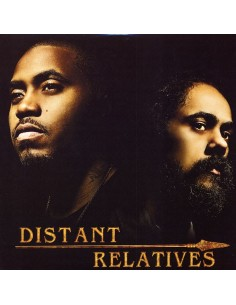 "VINILO 2LP NAS & DAMIAN MARLEY ""DISTANT RELATIVES"""