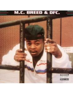 "VINILO LP M.C. BREED ""MC BREED & DFC"""