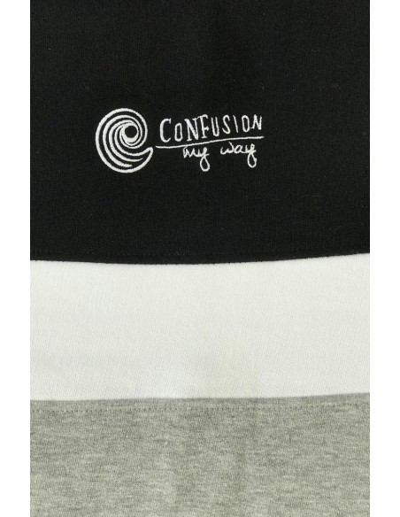 Sudadera CNF THIN LINE COMBINED BLACK JACOMBIN