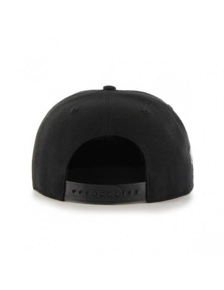 Gorra 47 BRAND CHICAGO BLACKHAWKS BLACK