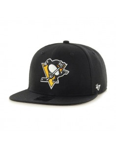 Gorra 47 BRAND PITTSBURGH PENGUINS BLACK