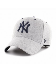 Gorra curved struct fit 47 BRAND NEW YORK YANKEES CHARCOAL