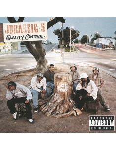 "CD JURASSIC 5 ""QUALITY CONTROL"""