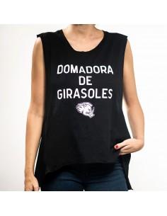 """Camiseta chica JAVATO JONES """"DOMADORA"""" NEGRO"""