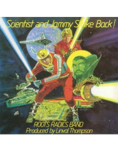 "VINILO LP SCIENTIST & PRINCE JAMMY ""SCIENTIST AND JAMMY STRIKES BACK!"""