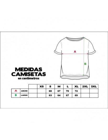 """Camiseta chica JAVATO JONES """"LOGO BRILLANTE"""" NEGRO"""