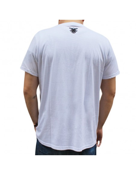 "Camiseta JAVATO JONES ""TRISTE"" BLANCA"