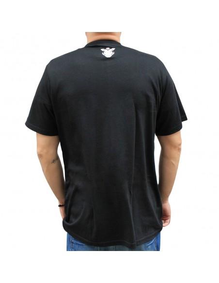 "Camiseta JAVATO JONES ""NO PARA"" NEGRA"
