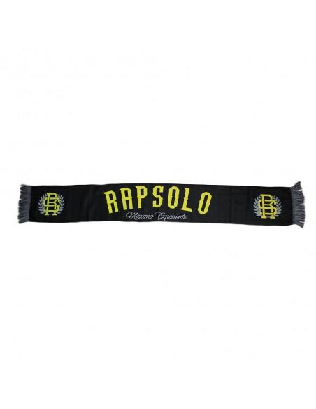 Bufanda RAPSOLO unisex, de lana en color negro