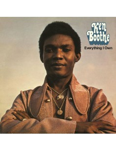 "VINILO LP KEN BOOTHE ""EVERYTHING I OWN"""