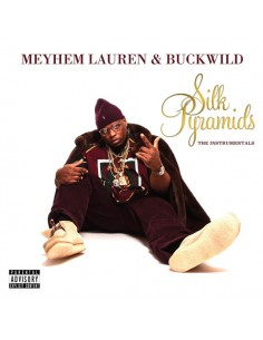 "VINILO LP MEYHEM LAUREN & BUCKWILD ""SILK PYRAMIDS: THE INSTRUMENTALS"""