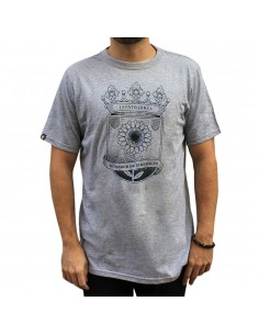"Camiseta JAVATO JONES ""GIRASOL"" GRIS"