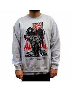 "Sudadera JAVATO JONES ""DON'T STOP"" GRIS"