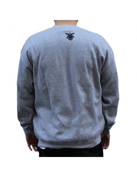 "Sudadera JAVATO JONES ""ALL THE PEOPLE"" GRIS"