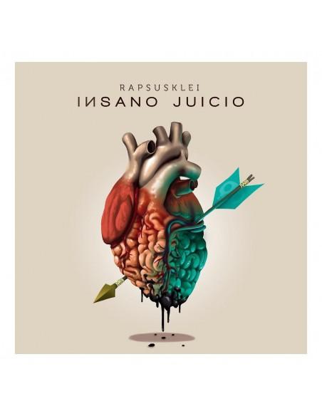 """VINILO LP RAPSUSKLEI """"INSANO JUICIO"""""""