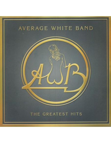 """VINILO LP COLOREADO AVERAGE WHITE BAND """"GREATEST HITS"""""""