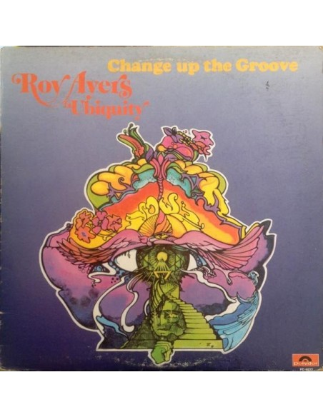 """VINILO LP ROY AYERS """"CHANGE UP THE GROOVE"""""""