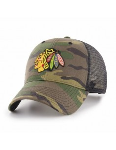 Gorra trucker 47 BRAND CHICAGO BLACKHAWKS CAMO