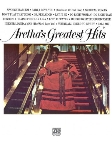 "VINILO LP ARETHA FRANKLIN ""GREATEST HITS"""