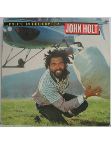 """VINILO LP JOHN HOLT """"POLICE IN HELICOPTER"""""""