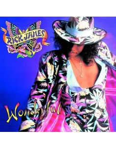 "VINILO LP RICK JAMES ""WONDERFUL"""