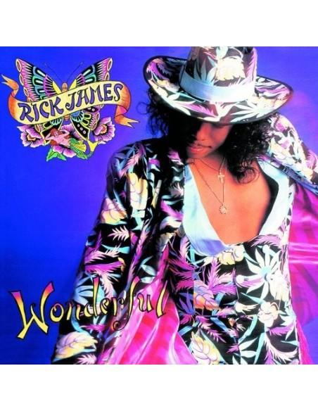 """VINILO LP RICK JAMES """"WONDERFUL"""""""