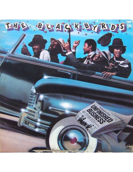 "VINILO LP THE BLACKBYRDS ""UNFINISHED BUSINESS"""