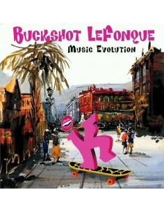 "VINILO LP BUCKSHOT LEFONQUE ""MUSIC EVOLUTION"""