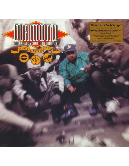 "VINILO 2LP DIAMOND D AND THE PSYCOTIC NEUROTICS ""STUNTS, BLUNTS & HIP HOP"""
