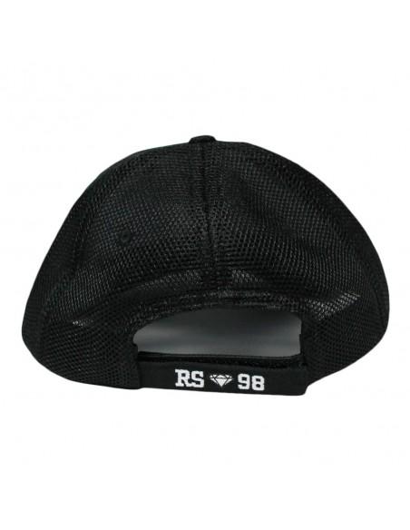 Gorra RAPSOLO DIAMOND unisex, de algodón en color negro