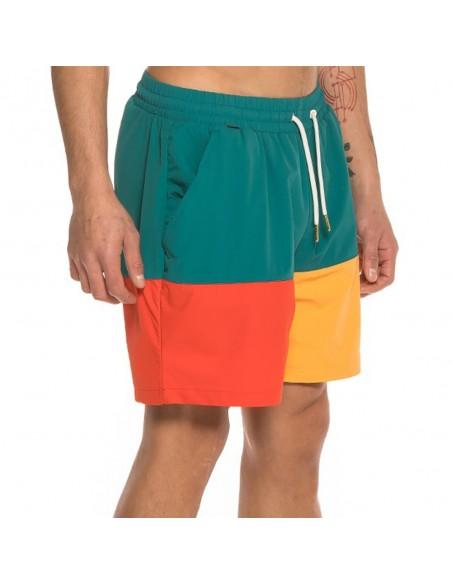 Pantalón corto GRIMEY MIDNIGHT TRICOLOR RUNNING SHORT