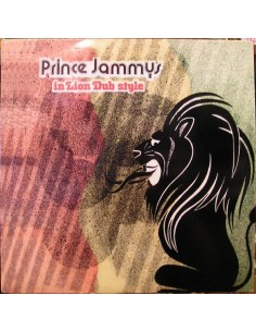 "VINILO LP PRINCE JAMMY ""IN LION DUB STYLE"""