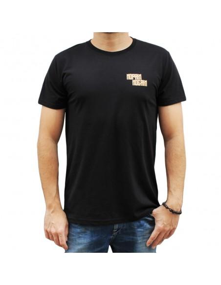 """Camiseta hombre NO PAIN NO GAIN  """"LONELY"""" en color NEGRO"""
