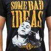 """Camiseta hombre NO PAIN NO GAIN  """"BAD IDEAS"""" en algodón, color negro"""