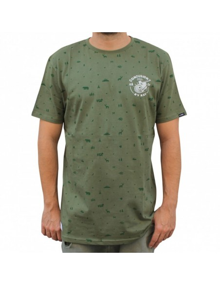 Camiseta CNF FOREST GREEN