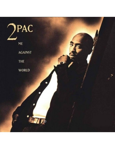"CD 2PAC ""ME AGAINST THE WORLD"""