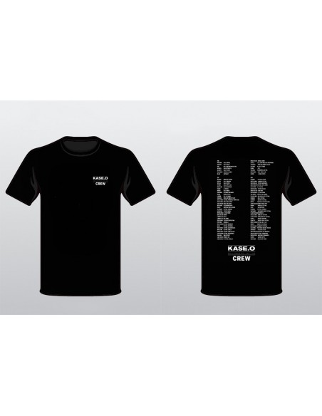 Camiseta KASE.O GIRA EL CÍRCULO NEGRA