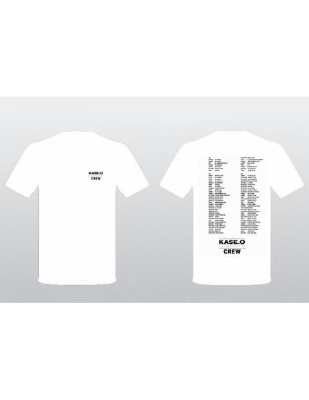 Camiseta KASE.O GIRA EL CÍRCULO BLANCA