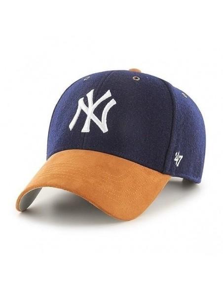 Gorra curved 47 BRAND NEW YORK YANKEES NAVY CAMEL