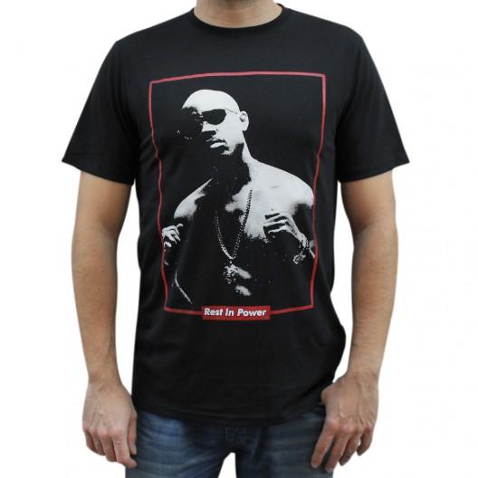 """Camiseta hombre NO PAIN NO GAIN """"GURU"""" unisex en algodón de color NEGRO"""