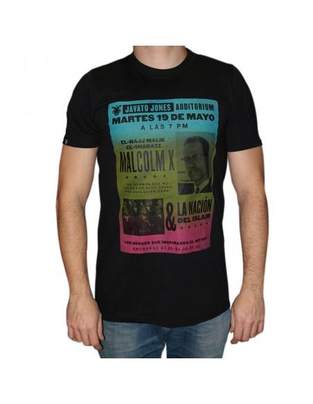 """Camiseta JAVATO JONES """"MALCOLM X"""""""