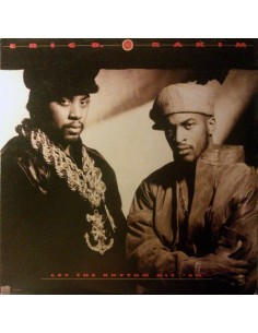 "2LP ERIC B & RAKIM ""LET THE RHYTHM HIT'EM"""
