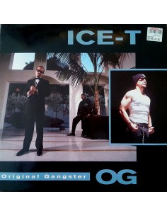 "VINILO LP ICE-T ""O.G. ORIGINAL GANGSTER"""