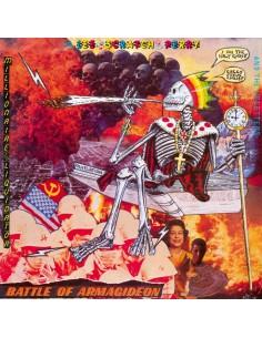 """VINILO COLOREADO LP LEE SCRATCH PERRY """"BATTLE OF ARMAGIDEON"""""""