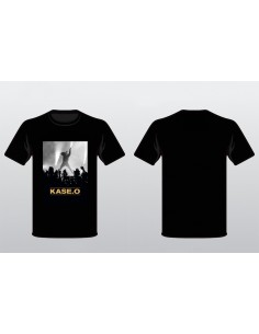 Camiseta KASE.O DENTRO DE EL CÍRCULO NEGRA