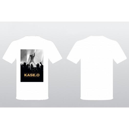 Camiseta KASE.O DENTRO DE EL CÍRCULO BLANCA