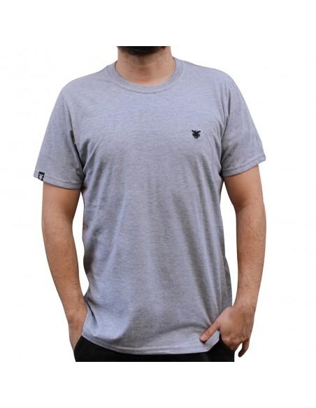 "Camiseta JAVATO JONES ""LOGO BASIC"" GRIS"